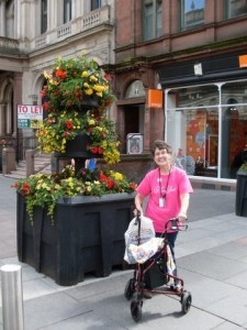Gayle in Glasgow, Scotland