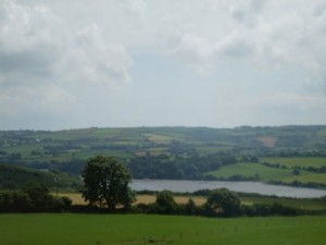 Beautiful Irish scene near Kinsale
